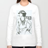 coco Long Sleeve T-shirts featuring Coco by amargarcia