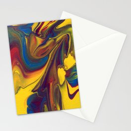 Paint Pouring 20 Stationery Cards