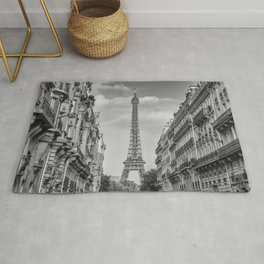 Parisian Flair | monochrome Rug