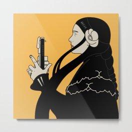 "Koloman (Kolo) Moser ""Poster for Frommes Calendar"" Metal Print"