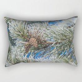 Christmas frost Rectangular Pillow