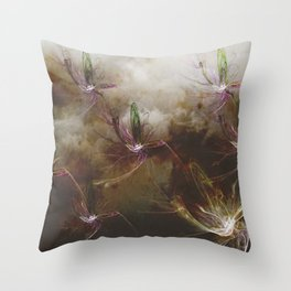 Dragon Flys Throw Pillow