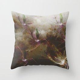 Dragon Flys Throw Pillow