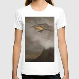 """The Dragon Awakes"" by Theodor Kittelsen T-shirt"