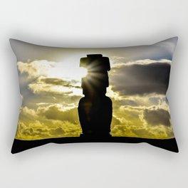 Quiet at sunset Rectangular Pillow