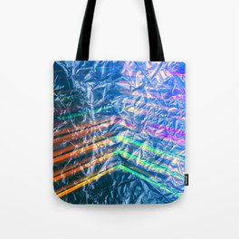 Disco Night Through Candy Wrapper Tote Bag