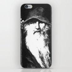 Scandinavian Mythology the Ancient God Odin iPhone & iPod Skin