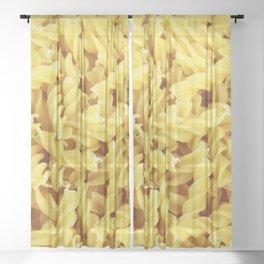 Pasta Sheer Curtain