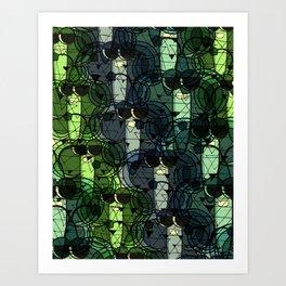 """""""Hang Together""""  Art Print"""