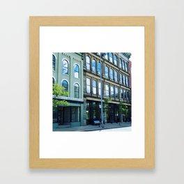 Toledo  Downtown Framed Art Print