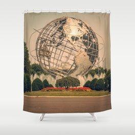 globe... Shower Curtain