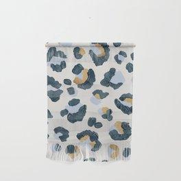 Snow Leopard Print Wall Hanging