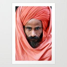 Baba, India Art Print