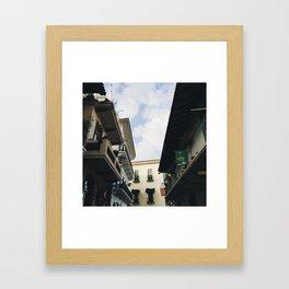 Architecture of Casco Viejo Framed Art Print