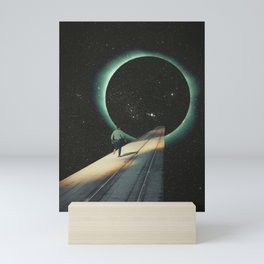 Escaping into the Void Mini Art Print