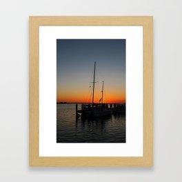 Evening Interlude Framed Art Print