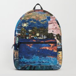 Greece: Thessaloniki In Memory Backpack