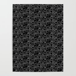 Black Cats Are Best Poster