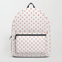 Polka Flower Spring Dots Backpack