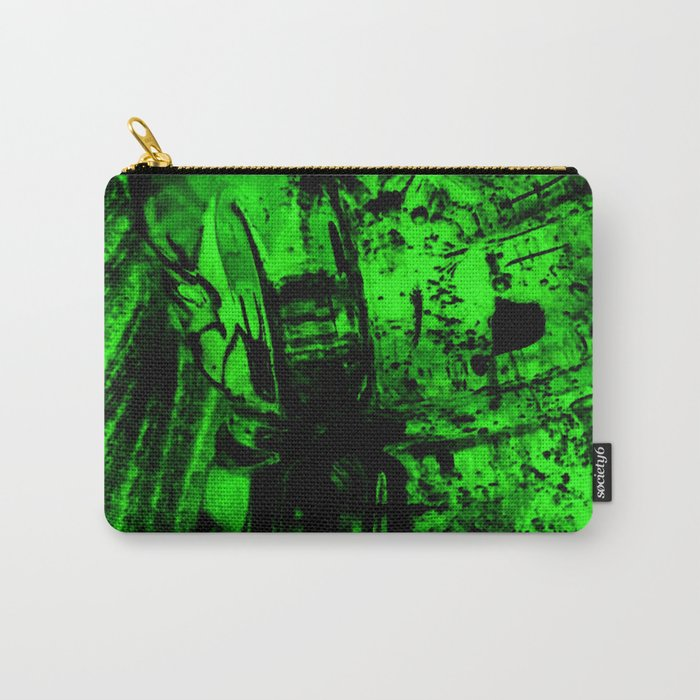 Ice Green Carry-All Pouch