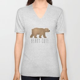 Beary Cute Unisex V-Neck