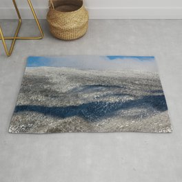 Mountain with Patterns Rug