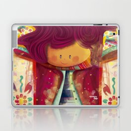 Altarpiece and flowers Laptop & iPad Skin