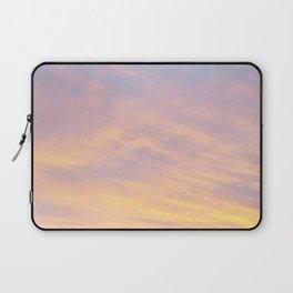 Blue Rose Yellow Sunrise Laptop Sleeve