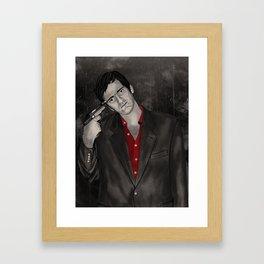 QT Framed Art Print