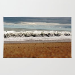 Rolling New England Waves Rug