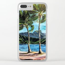 Hanalei Bay Kauai Clear iPhone Case