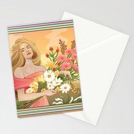Spring Nouveau Stationery Cards