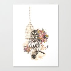 Oh my OWL! Canvas Print