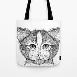 Cat 9 Tote Bag