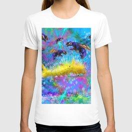 Waspy Predators In Wait T-shirt