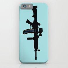 Art not War - Blue iPhone 6s Slim Case