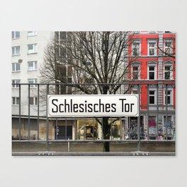 Berlin U-Bahn Memories - Schlesisches Tor Canvas Print