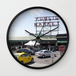 Seattle Public Market Wall Clock