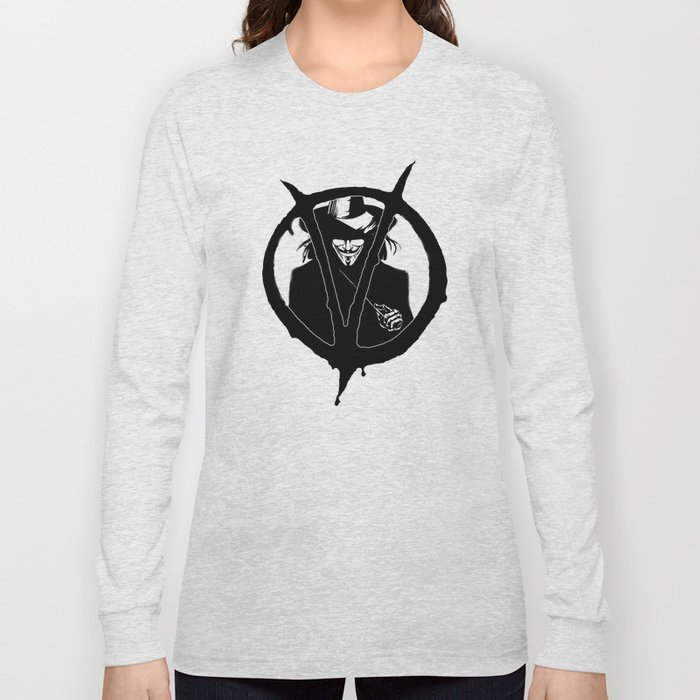 V for Vendetta3 Long Sleeve T-shirt