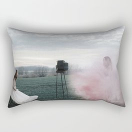 Watch the old you disappearing Rectangular Pillow