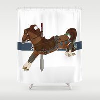kili Shower Curtains featuring Kili by MarieJacquelyn