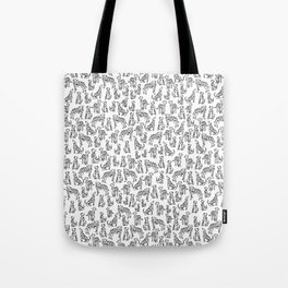 Dalmatian Plantation Tote Bag