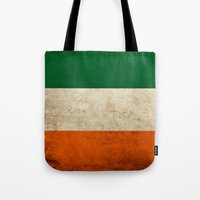 irish Tote Bags featuring Irish by Jason Michael