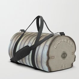 """""""Do you even lift bro?"""" Olympic Dumbbell Weights Athletic Sports Gym Bag Designed by duffletrouble Duffle Bag"""