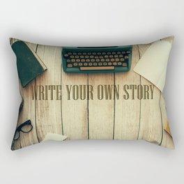 write your own story II Rectangular Pillow