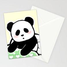Read panda a story Stationery Cards