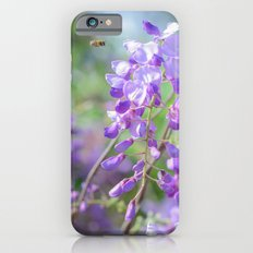 Bees and lilacs iPhone 6s Slim Case
