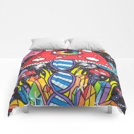 Psychedelic DNA Comforters