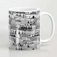 palestine Mugs featuring Jerusalem, Palestine by LaPe