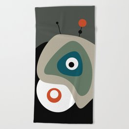 Abstract Mid Century 17 Beach Towel